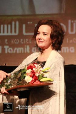 مهرجان تاصميت يكرم الفنانة كريمة الصقلي في إختتام فعالياته ببني ملال