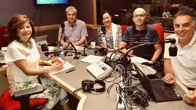 الفنانة كريمة الصقلي بلا حدود على إذاعة راديو كندا الدولي