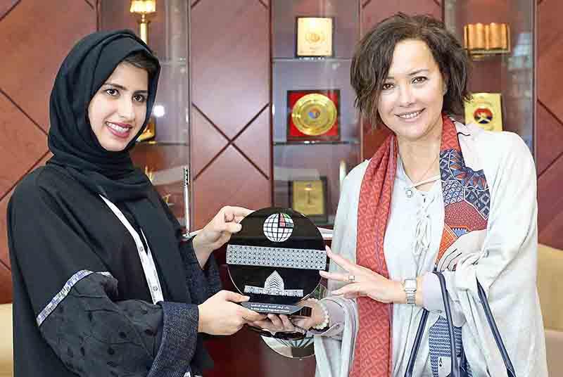 زيارة مركز الامارات للدراسات والبحوث الاستراتيجية