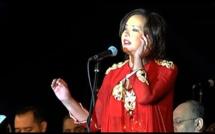 المطربة المغربية كريمة الصقلي تتألق في حفلة عاصمة الثقافة العربية