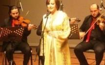 كريمة الصقلي تغني لأحمد البيضاوي والراشدي بالدوحة
