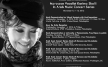 المطربة كريمة الصقلي تحتفي بالموسيقى المغربية والتراث الأندلسي بفيلادلفيا